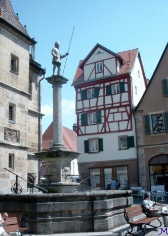 Weißenburger Schweppermannbrunnen
